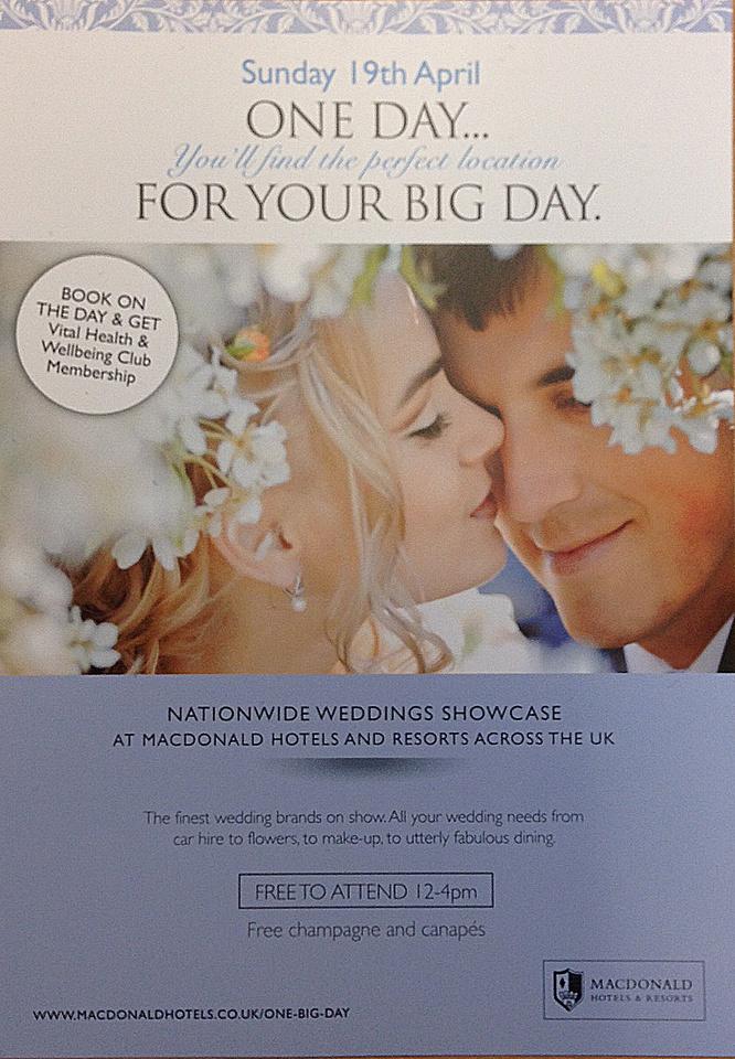 Bath Spa Hotel Wedding Fayre - 19th May 2015