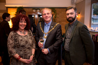 Melissa Blease, Mayor Cllr Will Sandry, Toby Bywater (2)