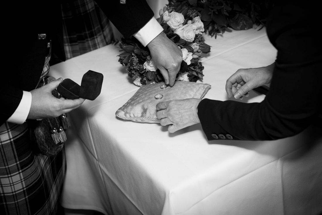wedding rings Macdonald Bath Spa Hotel Leon Day Images