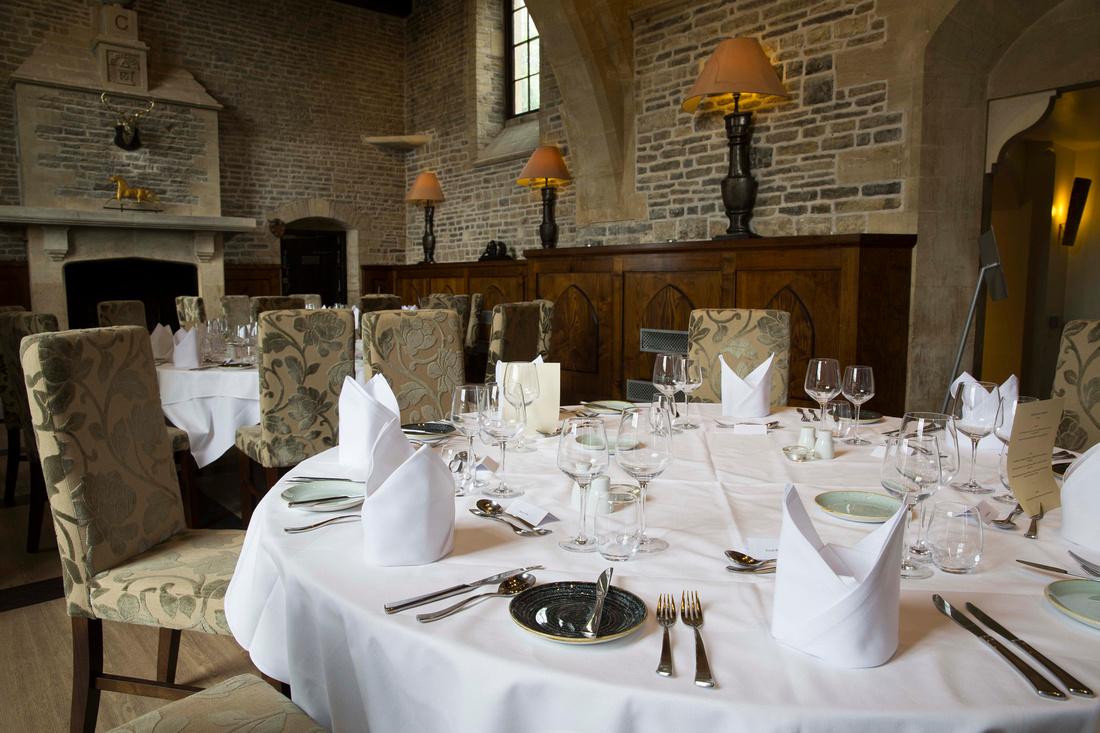 Masons Restaurant at Tracy Park Hotel in Bath