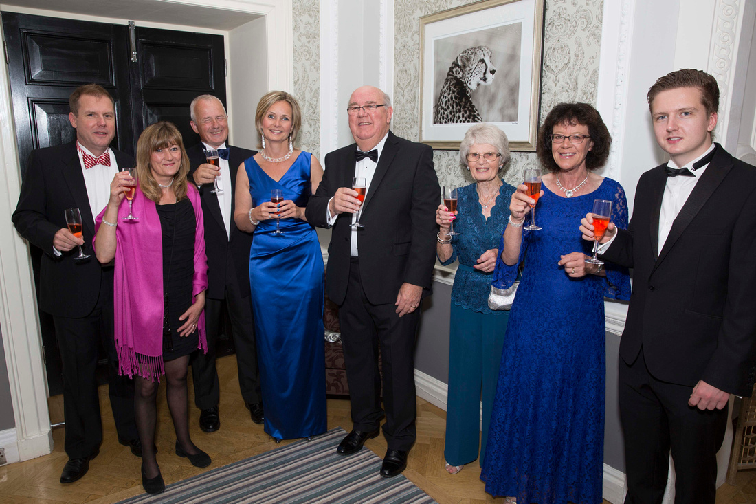 Birthday party celebrations at Tracy Park Hotel in Bath