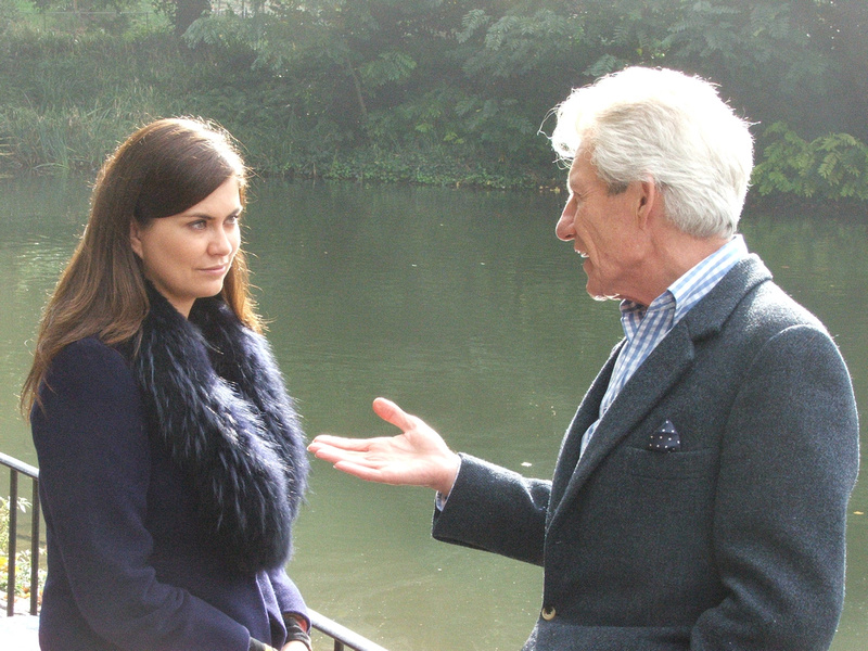 Lord Lichfield discusses photography with Amanda Lamb