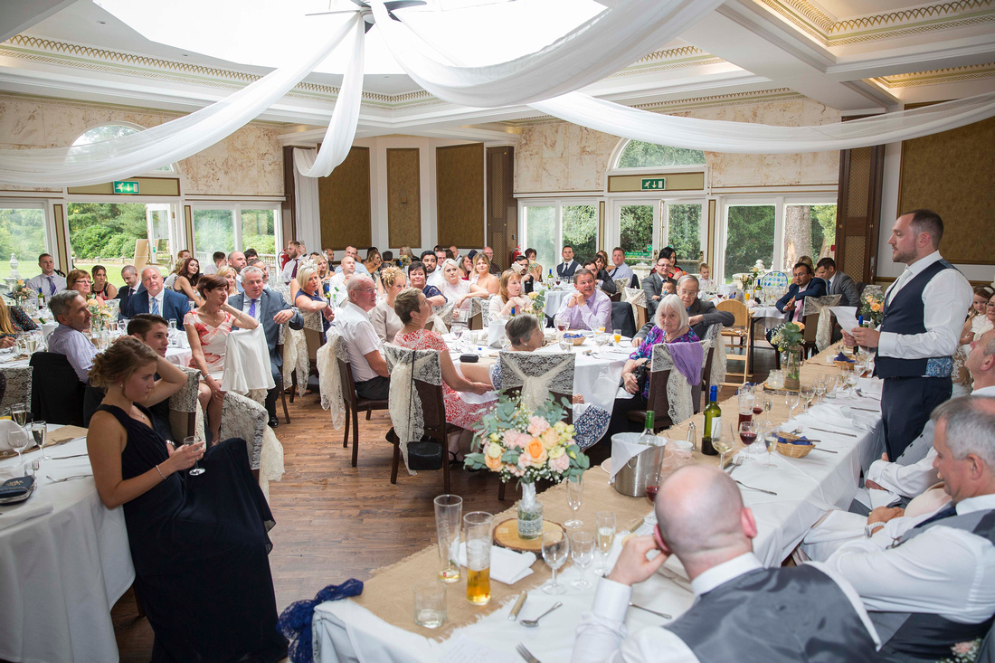 Dining room at Botleigh Grange Hotel