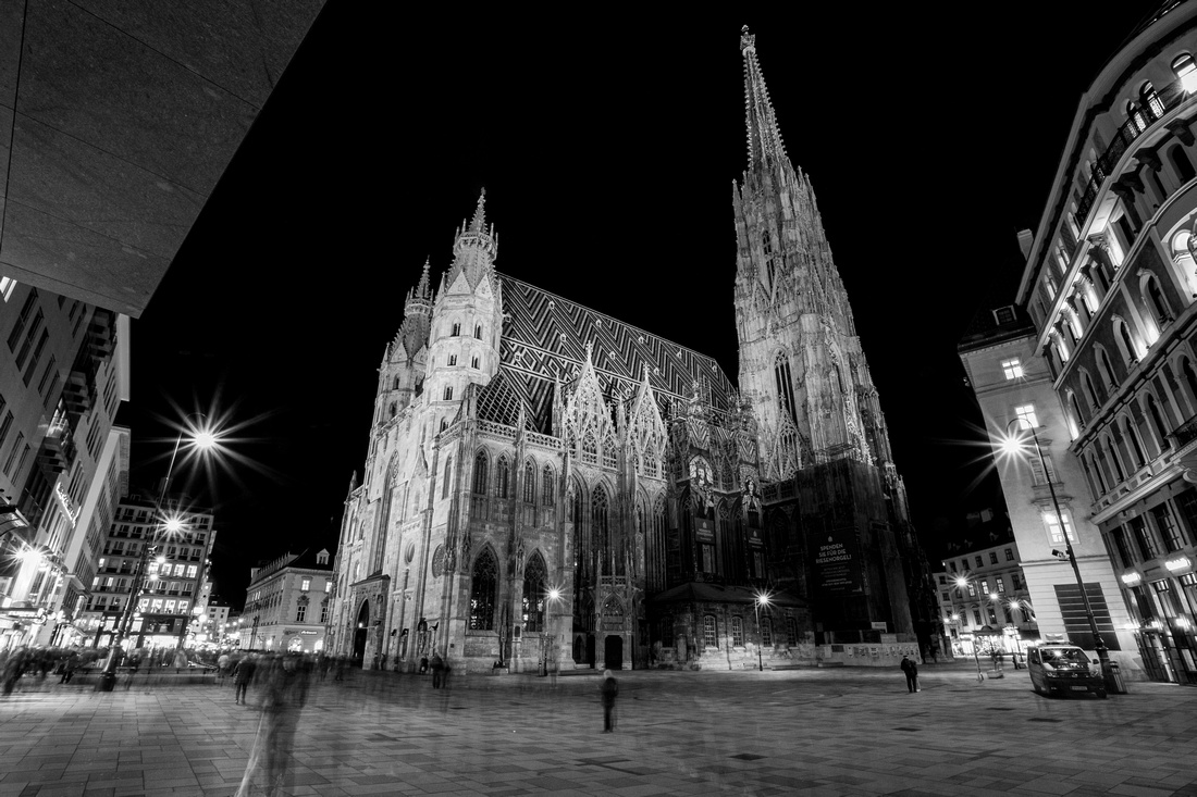 Exterior of St Stephen's Catherdral, Vienna
