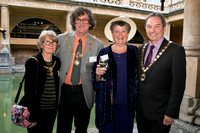 Mayoress Pat Lees, Mayor Malcolm Lees, Ann Garner & Chairman of the Council Martin Veal #1