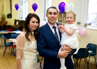 Lucia's Christening - St John the Evangelist Catholic Church, Bath (1)