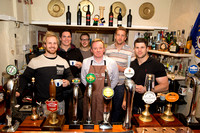 Bath Rugby Team - Coffee Making Lesson at The Fox, Broughton Gifford