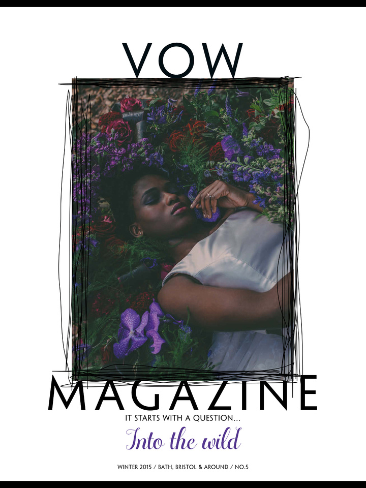 Vow Magazine Winter 2015 cover