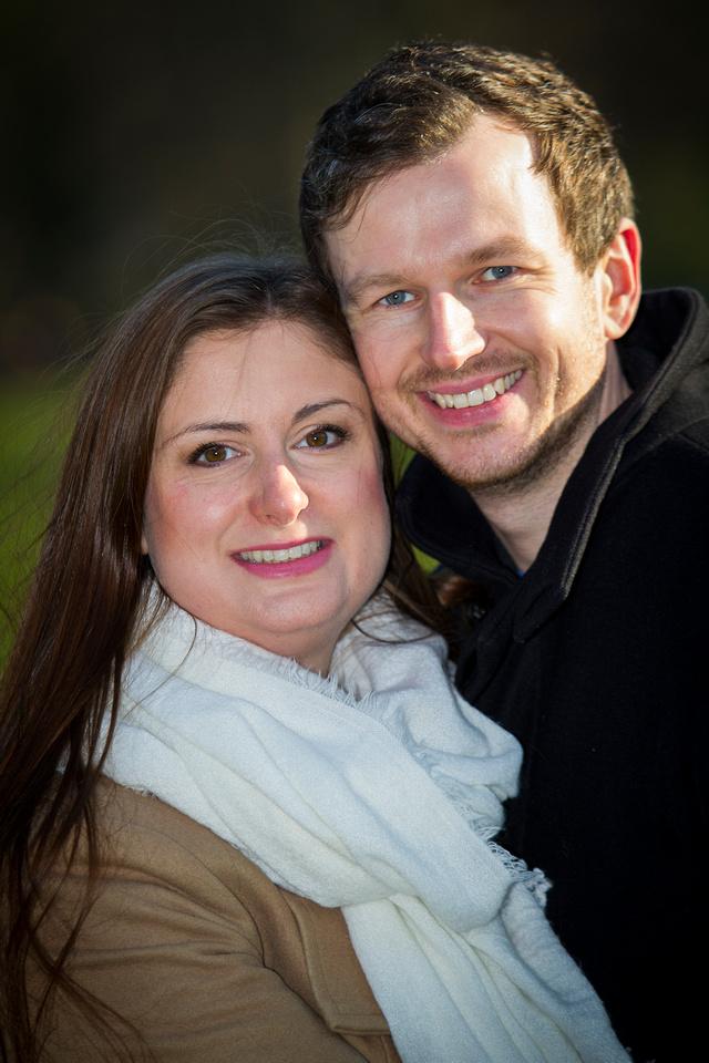 Couple Engagement shoot Royal Crescent Bath