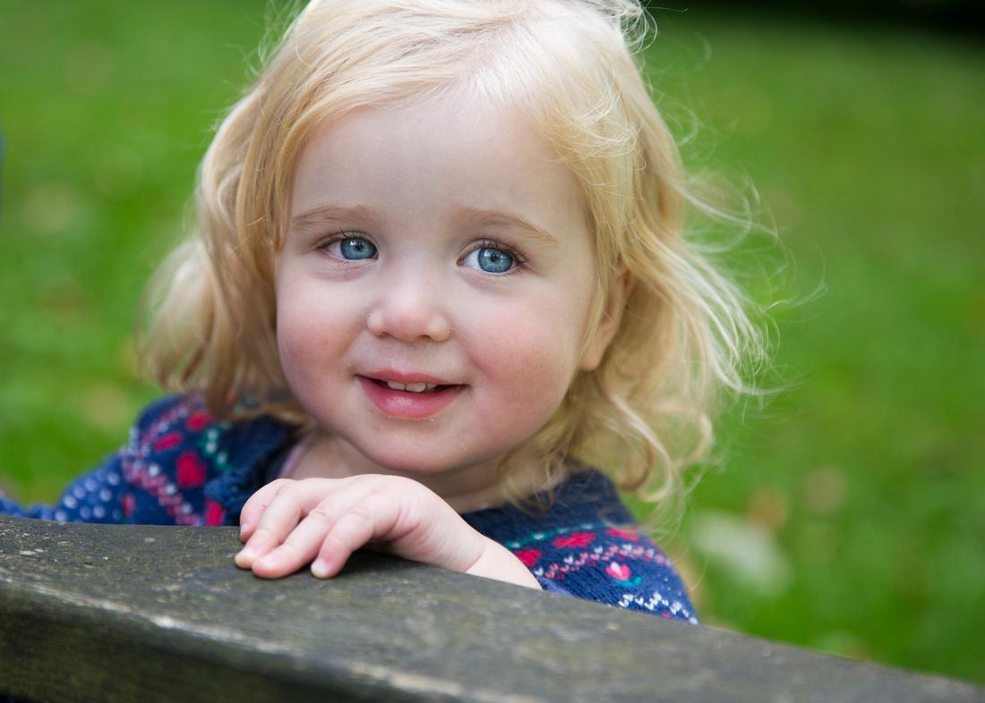 blue eyes baby smile