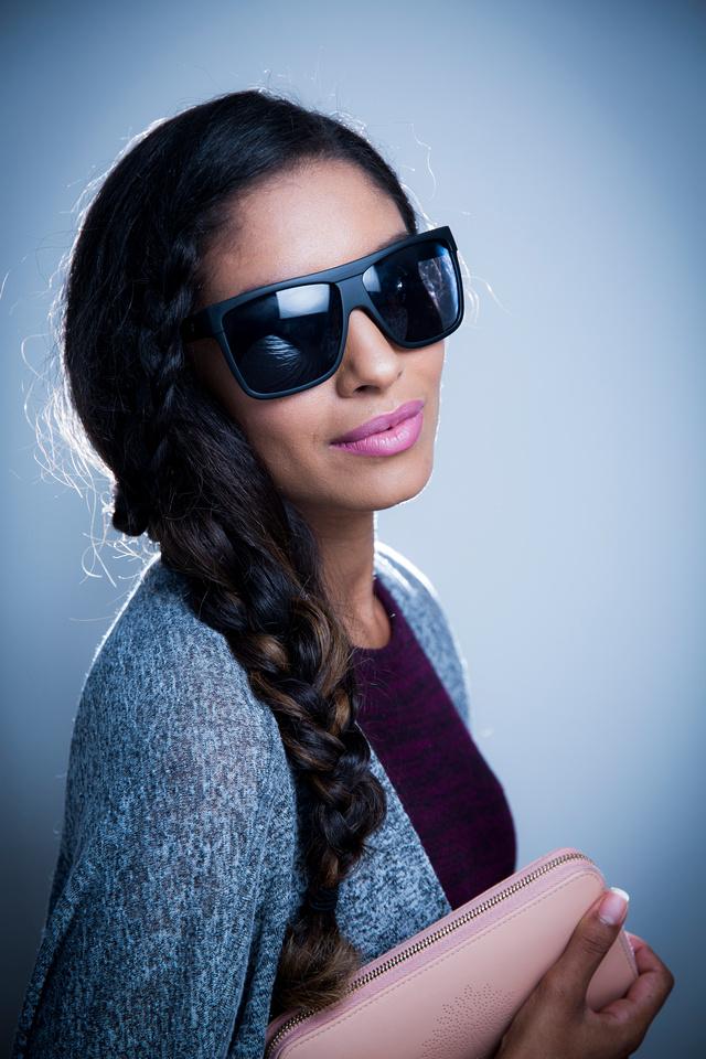 styling model portrait agency shoot