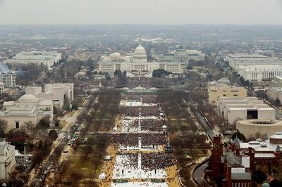 Donald Trump inauguration day