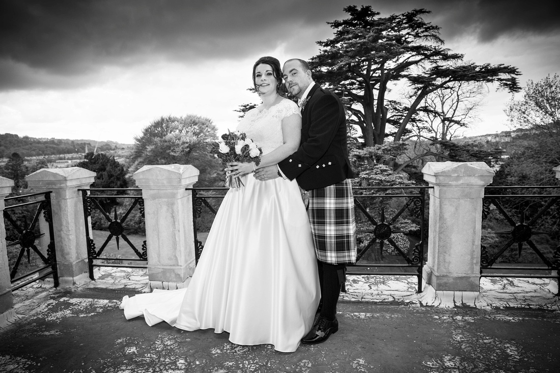 Wedding photos in the Grange Suite at Macdonald Bath Spa Hotel Leon Day Images