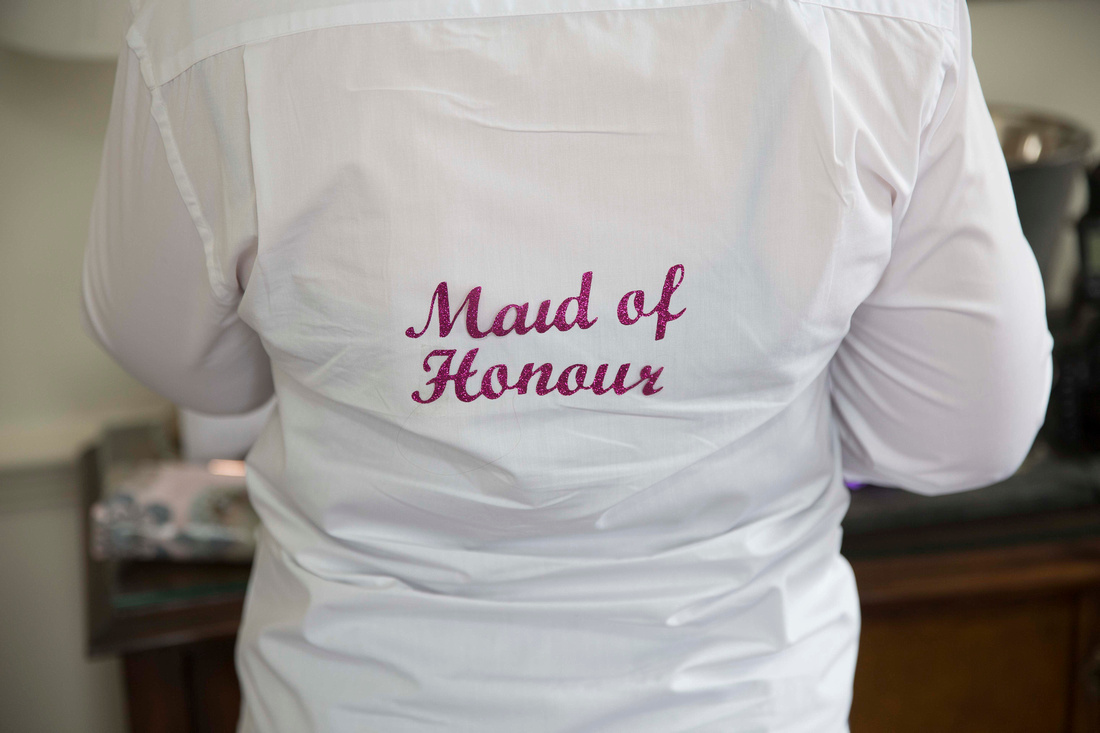 Maid of Honour bridesmaids shirt