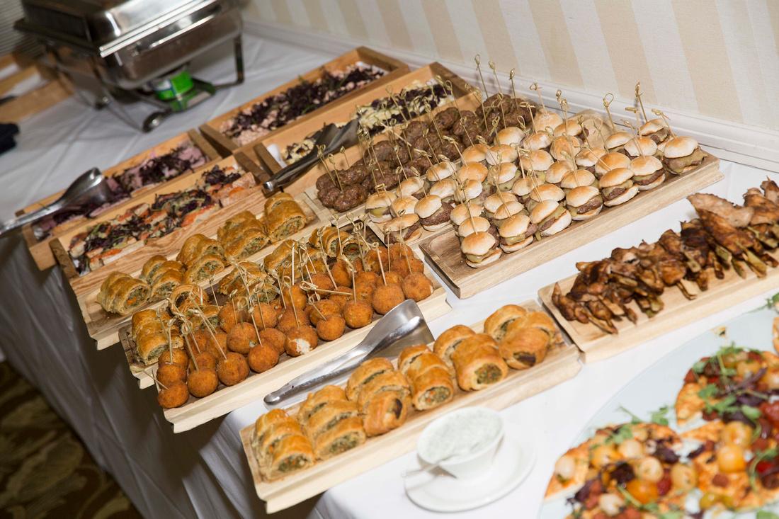 buffet food