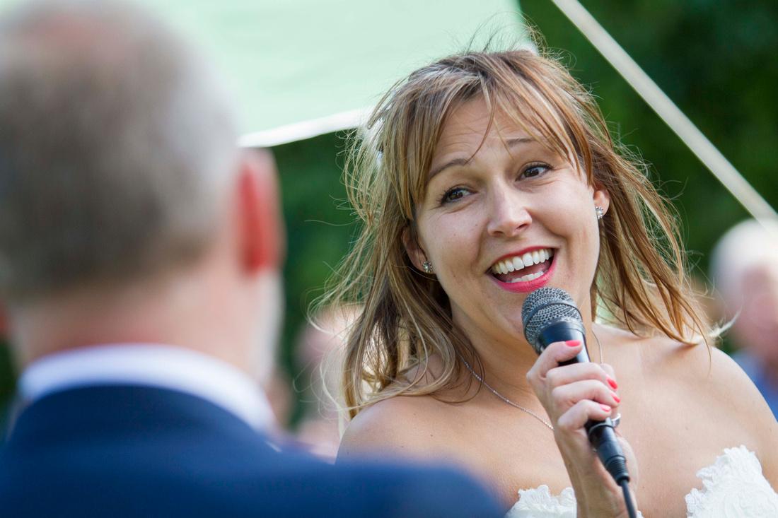 bride speech wedding