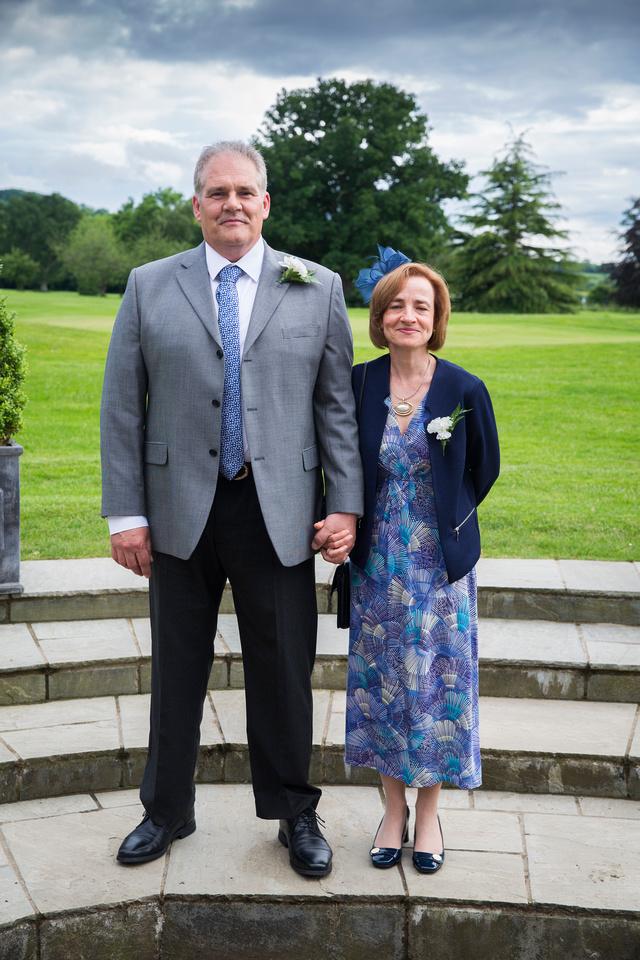 Tracy Park wedding