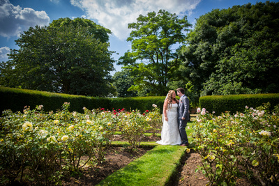 The Rose Garden at Offley Place
