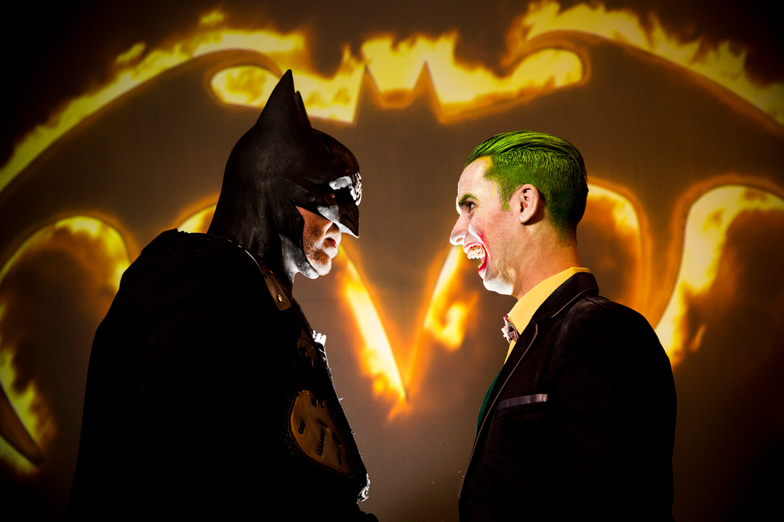 Batman Joker logo