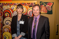 Zoe Dennington - Head of Learning & Counsellor Martin Veal - Vice Chairman of the Council