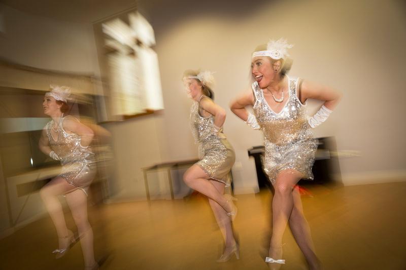 Dance Workshops demonstrating the Charleston