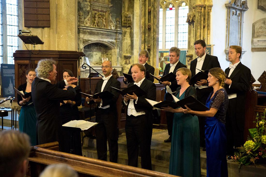 The Sixteen choir Harry Christophers CBE conductor