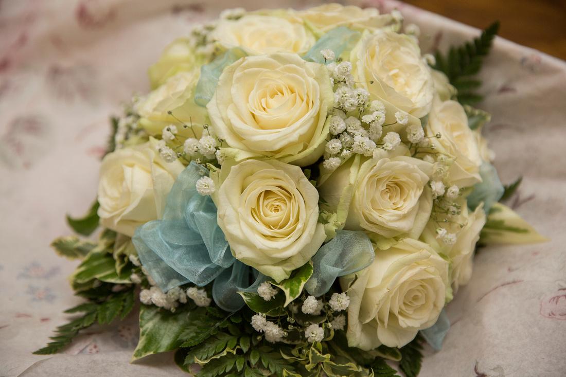 Tracy Park wedding - flowers