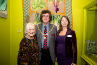 Jane Rose - Senior Tour Guide, Malcolm Lees - Mayor of Bath & Dine Romero - Mayors Guest