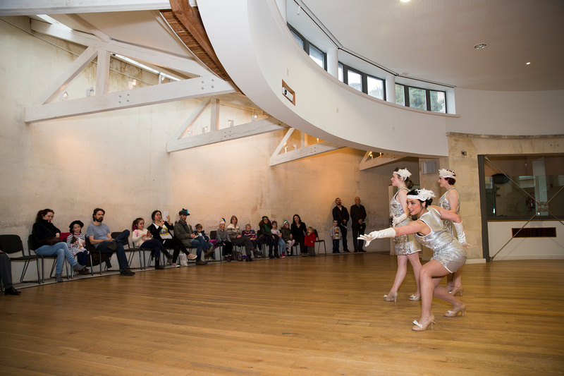 Dance Workshops demonstrating the Charleston at the American Museum